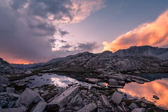 It wasn't meant to be (ScorpioOnSUP) Tags: a7iii bealpha easternsierra hitchcocklakes jmt jmt2018 johnmuirtrail mthale mtwhitney sequoianationalpark sierranevada sonyalpha abovetimberline adventure backcountry clouds lake landscape landscapephotography light mountains nature outdoors reflection shadows sunset thruhike wilderness