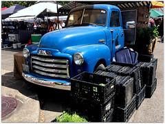 Gone To Market (2bmolar) Tags: happytruckthursday chevrolet chevy pickup saturdaymarket eugene oregon