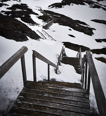 No hiking today (Valley Imagery) Tags: newfoundland snow stairs winter cold canada tamron 1530 sony a99ii