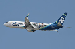 Alaska Airlines Disney Pixar Toy Story 4 Livery 737-890 (N589AS) LAX Takeoff 4 (hsckcwong) Tags: alaskaairlines 737890 737800 disneypixartoystory4livery n589as klax lax