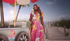 Summer Days (Sunny Love Holiday <3) Tags: artizana designershowcase truth truthhair cae minimal imeka secondlife secondlifeblog secondlifefashion sunnyloveholiday sunnylovesenju fashionablyfrugal