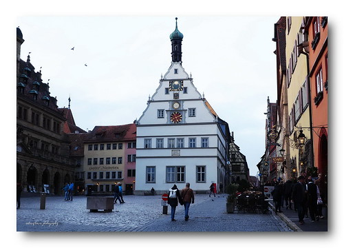 Old Town Hall Rothenburg ob der Tauber.