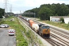Hilliard Holdout / North Acca (TolgaEastCoast) Tags: csx train q031 richmond acca yard virginia florida es44ah dpu intermodal railroad railway