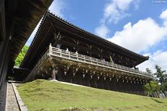 奈良・東大寺二月堂 ∣ Nigatsu-do Temple・Nara (Iyhon Chiu) Tags: 日本 奈良 東大寺 仏堂 建物 二月堂 樓梯 階段 nara japan japanese nigatsudo buddhist todaiji stairs temple