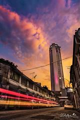 Landmark of Pulau Pinang, Malaysia (shenxiuluo1985) Tags: sunset sony a7riii komtar city cityscape