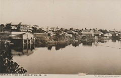 View of Innisfail when it was called Geraldton - prior 1911 (Aussie~mobs) Tags: vintage queensland geraldton australia innisfail river houses homes residences