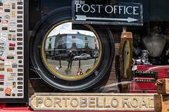 Selfie (Bryan Appleyard) Tags: d850 portobello mirror convex fish office post london houses street junk antiques
