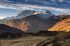 Fresca alba (cesco.pb) Tags: passodelsempione simplonpass switzerland svizzera fletschhorn alps alpi alba dawn sunrise canon canoneos60d tamronsp1750mmf28xrdiiivcld montagna mountains