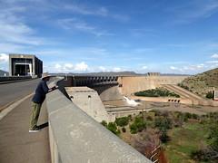 Gariep Dam Wall (Proteus_XYZ) Tags: southafrica freestate karoo gariepdam damwall staumauer
