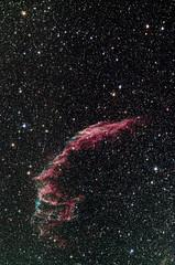 NGC 6992 (lionbit76) Tags: stars starfield nebula astronomy astrophotography deepsky supernova gas night longexposure telescope siril gimp