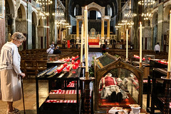 Saint John Southworth (Lawrence OP) Tags: englishmartyrs reliquary relic body saint veneration westminster cathedral candles prayer