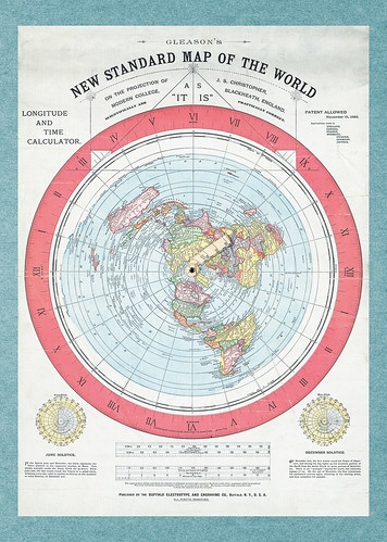 24-Affiche // 50x70cm // Flat Earth