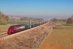 Mickey vas à la neige (videostrains) Tags: tgv thalys pbka pba train sncf lgv ligne nouvelle bourgogne railway bahn