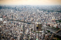 Tokyo from the Sky (Toine B.) Tags: tokyo japan architecture building d750 city asia favorites skytree