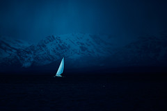 In from the storm (JereKetola) Tags: landscape norway spring fuji pentax 135mm mountains sea arctic ocean north