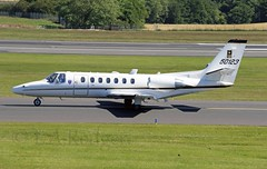 Citation 50123 (TF102A) Tags: prestwick prestwickairport aviation aircraft airplane c35 uc35 citation usarmy 50123