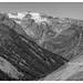 Route du plateau d'Emparis, depuis BESSE  / Emparis upland road, from BESSE