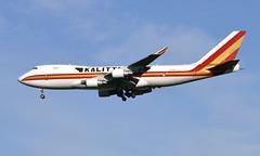 Kalitta N715CK, OSL ENGM Gardermoen (Inger Bjørndal Foss) Tags: n715ck kalittaair boeing 747 cargo osl engm gardermoen