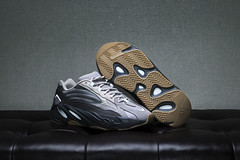 The underrated Yeezy 700 V2 Tephra. (Andy @ Pang Ket Vui ( shootx2 )) Tags: gum out sole rubber chunky bulky dad daddy shoes sneaker hype yeezy 700 v2 tephra boost reflective 3m tape d800 leather couch