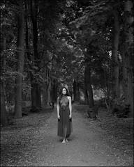 Alina (thexvo) Tags: xvophoto toyo toyoview d45m fujinon 56150 ilford hp5 film filmisnotdead filmphotography ishootfilm 4x5 largeformat viewcamera monorailcamera monochrome analog bw blackandwhite portraitisreligion portrait forest girl пленка портрет большойформат чб フィルム フィルム写真 フィルムカメラ 肖像