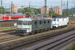 Railadventure Re 6/6 620 003 + EDL 103 142 Basel Bad (daveymills37886) Tags: holzroller baureihe 103 railadventure 620 003 edl 142 basel bad re 66