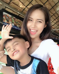 my nephew and I (ChalidaTour) Tags: thailand thai asia asian people family nephew aunt kid child boy girl teen twen beautiful pretty sweet cute portrait tour guide pattaya beach vacation holiday happyplanet asiafavorites