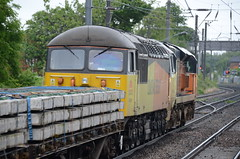 70812 & 56078 at Morpeth (stephen.lewins (1,000 000 UP !)) Tags: grids class56 56078 70812 class70 colas railways morpeth northumberland
