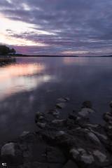 ''Le fleuve!'' Neuville (pascaleforest) Tags: paysage passion nature nikon sigma nisi ciel sky nuge cloud eau water roche rock rive fleuve landscape
