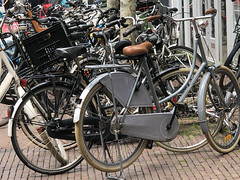 Haarlem Bikes (syf22) Tags: holland dutch netherlands tour tourist vacation holiday haarlem bike push cycle bicycle pedals manpower wheels vehicle