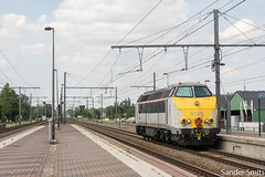 NMBS 5501 | Kontich-Lint | 24/06/2019 (Sander_Smits) Tags: nmbs hld55 5501 kontich kontichlint diesel locomotive l27 sncb