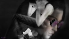 M I S P LA C E D... ( by: Storie's -GlitterPrincess Destiny~ (GlitterPrincess Destiny (in SL) Black Label Exhibi) Tags: innocence misplaced forgotten athazagoraphobia bw portrait vibes strange dreams ghosts imagine lost souls