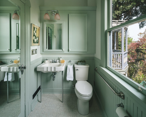 1900s Victorian Inspired Kitchen + Bath 023