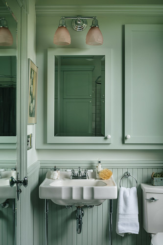 1900s Victorian Inspired Kitchen + Bath 025