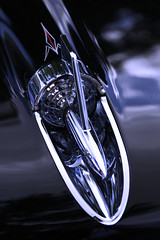 Shiny bits (taddzilla) Tags: classiccar chrome bullet pinstripe hood car black lines reflections carshow chevy chevrolet dreamcarclassic browardcount hollywood florida 2019 allrightsreserved