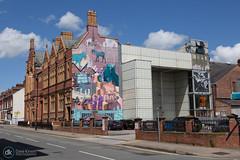 Warrington - 20/06/19 (Dave.Kirwin) Tags: warringtonbankquay artscentre mural street cheshire