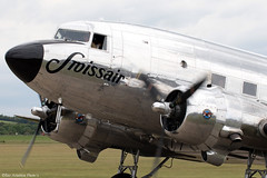 N431HM (Baz Aviation Photo's) Tags: n431hm douglas dc3 dakota duxford egsu qfo normandy over daks