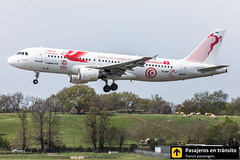Airbus A320 Tunisair La Galite (Carthage Eagles 2018 World Cup livery) TS-IMP (Ana & Juan) Tags: airplane airplanes aircraft airport aviation aviones aviación airbus a320 tunisair landing toulouse tls lfbo spotting spotters spotter planes canon closeup