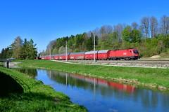 """1116 272 """"ÖBB"""" Wartberg an der Krems (Matthias Greinwald) Tags: 1116 272 taurus öbb österreichische bahn bundesbahn güterzug zug wartberg an der krems pyhrn"""