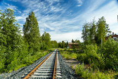 Summer day stroll (A.Koponen) Tags: canon eosr rf24105mmf40 day sky cloud clouds hoya suomi kuopio finland railroad tree nature scenery industrial