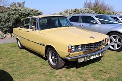 Rover 2200 SC OVY313P (Andrew 2.8i) Tags: classics meet show cars car classic weston westonsupermare british saloon sedan bl britishleyland p6 22 2200sc sc 2200 rover
