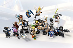 New LEGO Overwatch Sets Wrecking Ball, Junkrat & Roadhog (fbtb) Tags: 75976wreckingball 75977junkratamproadhog