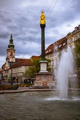 Graz (::ErWin) Tags: graz herrengasse austria styria steiermark springbrunnen marienstatue