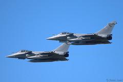 Rafale pair (J Saari) Tags: a900 aviation airshow airforce airplane turkuairshow2019 turku finland rafale arméedelair frenchairforce dassault fighter
