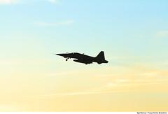 F-5EM (Força Aérea Brasileira - Página Oficial) Tags: 2018 ala ala12 caca f5 fab forcaaereabrasileira forçaaéreabrasileira fotobiancaviol om orgaopublico santacruzrj aeronave brazilianairforce sky sunset silhueta silhouette