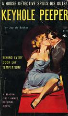 Beacon Books B110 - Jay de Bekker - Keyhole Peeper (swallace99) Tags: beacon vintage 50s sleaze paperback