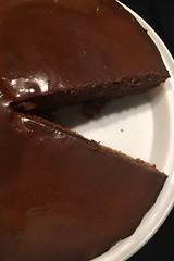 Latifa's choco cake! (domit) Tags: wemmel rental house cooking nanny latifa cake chocolate