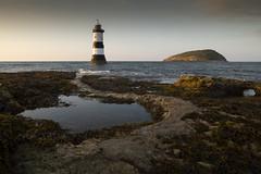 Trwyn Du Lighthouse, Anglesey (Frightened Tree) Tags: plankton bioluminescent bioluminescence penmon lighthouse wales cymru black point trwyn du beaumaris ynys mon anglesey landscape