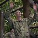 Advanced Camp, 5th Regiment Cadets take on the confidence course during Cadet Summer Training.
