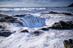 Thor's Well at high tide, Cape Perpetua, Oregon (diana_robinson) Tags: thor'swell capeperpetua yachats coastaloregon oregoncoast nature landscape seascape highway101 pacificnorthwest coastal oregoncoasttrail pacificocean oregon abigfave