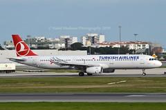 """Milas"" Turkish Airlines TC-JMI Airbus A321-231 cn/3673 @ LPPT / LIS 08-02-2019 (Nabil Molinari Photography) Tags: milas turkish airlines tcjmi airbus a321231 cn3673 lppt lis 08022019"